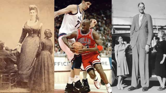 De beroemdste reuzen uit de geschiedenis