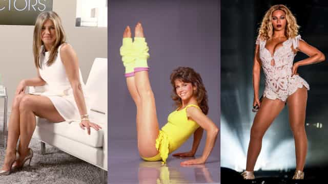 Qual celebridade tem as pernas mais bonitas?