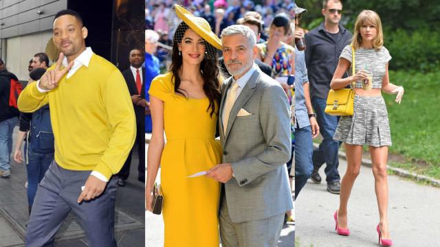 Pantone 2021: le star in giallo e grigio