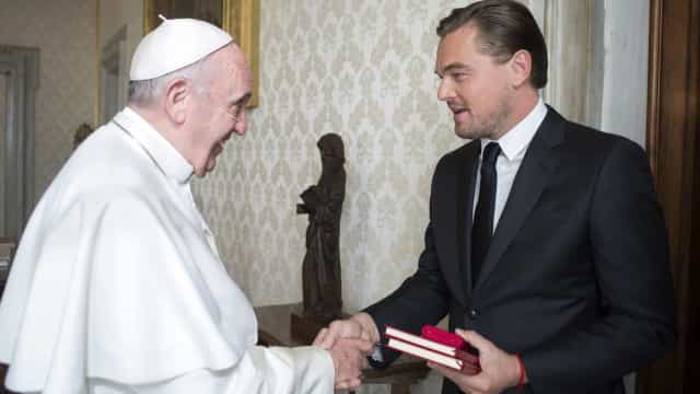 Celebrities who've met Popes throughout history