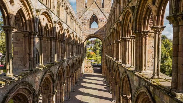 Storbritanniens historiska religiösa ruiner