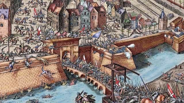 Great sieges throughout the centuries