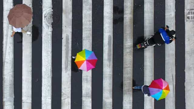 Crosswalk moments across the world