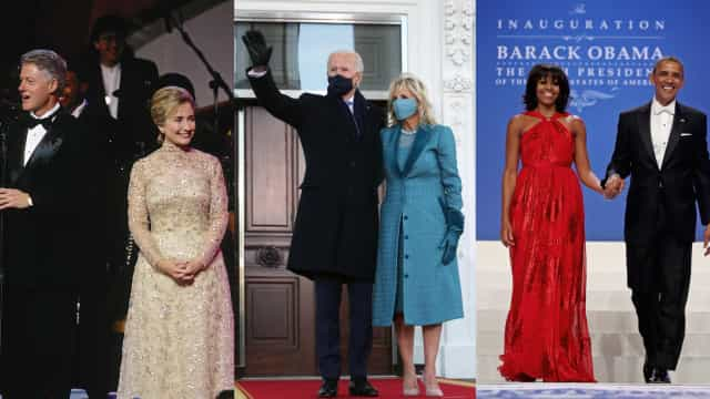First Ladies' inauguration day fashion throughout history