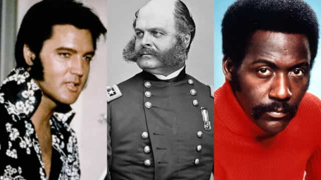 The sideburn's place in fashion history