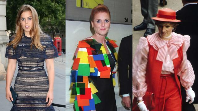 Die peinlichsten Mode-Fauxpas der Royals