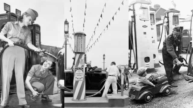 Redécouvrez la beauté des stations essence de l'époque