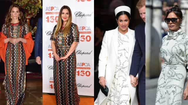 When celebs dress exactly like royals