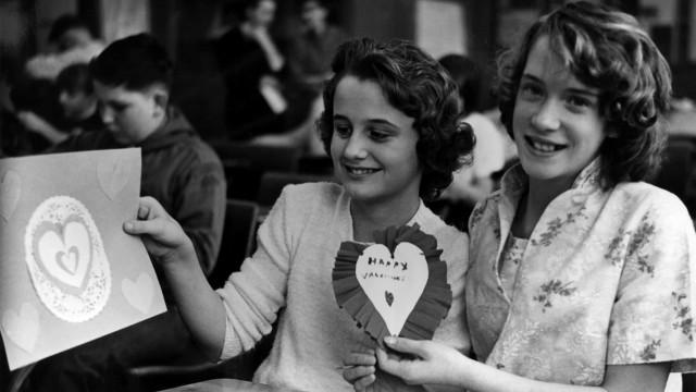 Photos vintages de Saint-Valentin