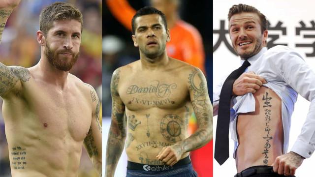 Los tatuajes más especiales de la historia del deporte