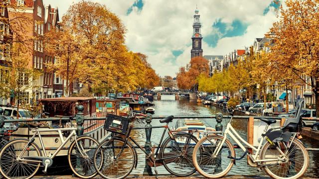 Ute på äventyr i fantastiska Amsterdam