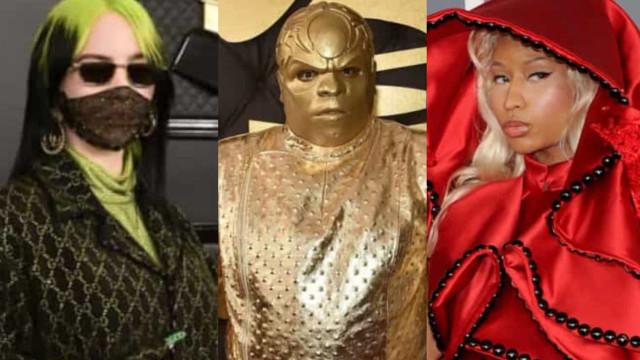Grammys: os mais mal vestidos da última década