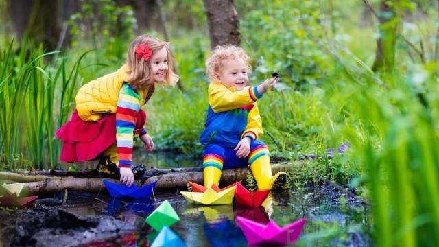 Lockdown: le attività da fare all'aperto con i bambini