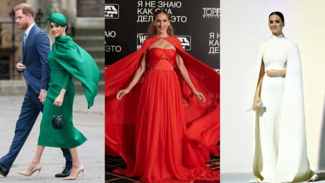 Supercelebs rocking stylish capes