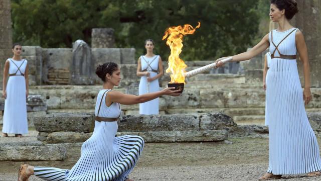 Waar komt de Olympische vlam vandaan?