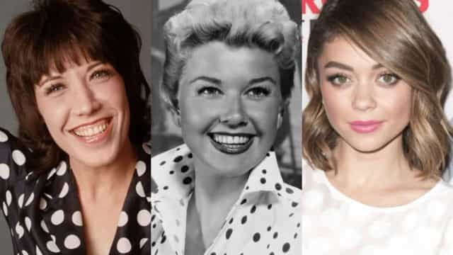 Stars rocking iconic polka dot looks