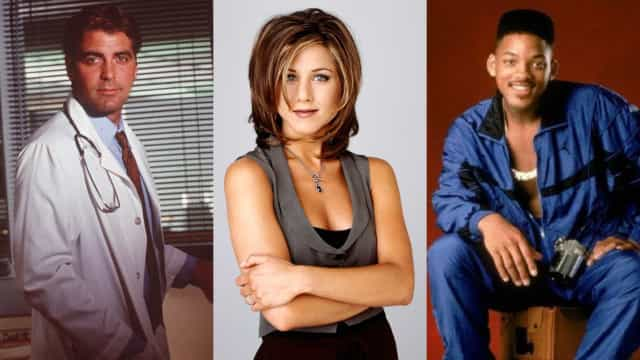 Movie stars who made their name in television