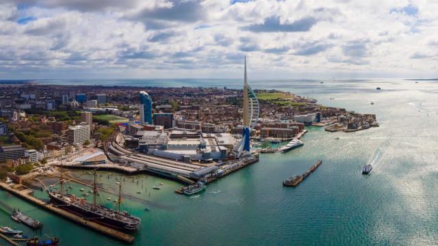 Upptäck Portsmouth, Storbritanniens enda östad