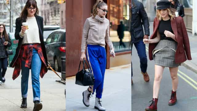 Celebs rocking Docs and combat boots