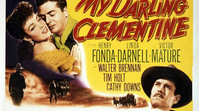 """Arte de cartazes de filmes """"western"""" antigos"""