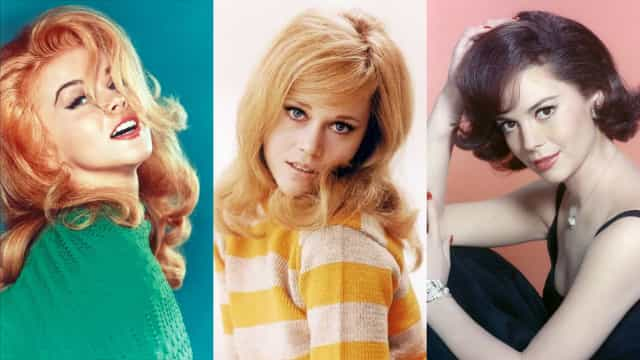 Who were the most beautiful women of the 1960s?