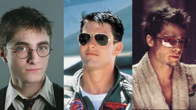 Famous glasses in movie history