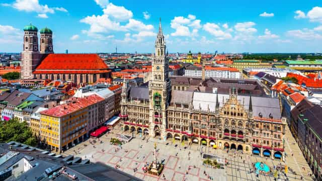 Enjoy a meander through Munich