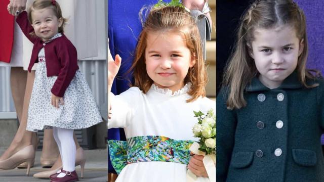 Princesse Charlotte: 6 ans de mignonneries