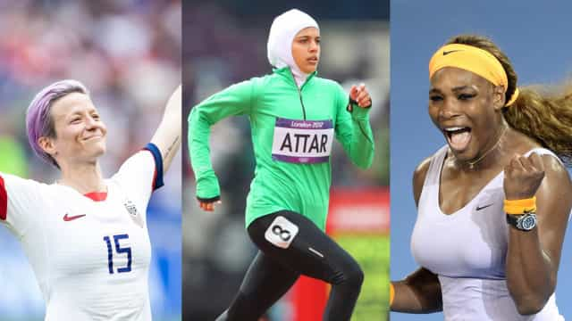 The most influential female athletes of all time