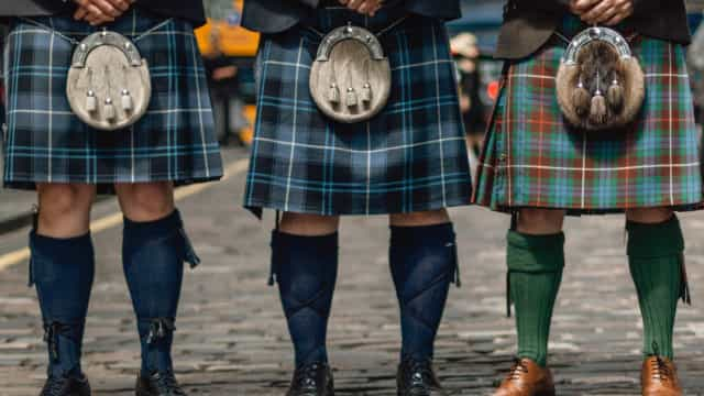 Scottish style: Dressed to kilt