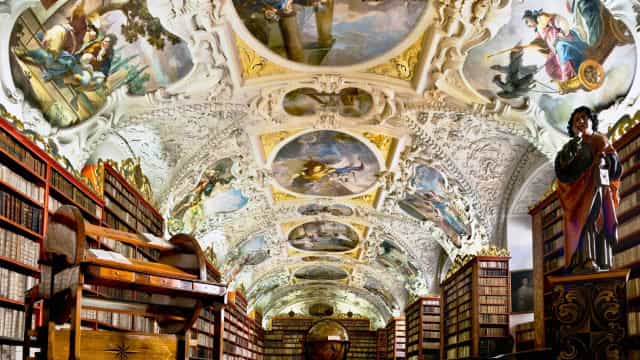 Look up at the world's most stunning ceilings