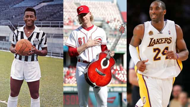Sports stars who have hidden musical talents