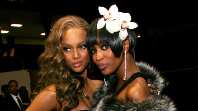 Naomi Campbell x Tyra Banks e mais rivalidades do mundo da moda