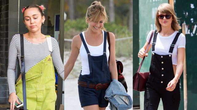 Dreamy dungarees: Celebrities in overalls