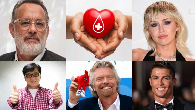 Fördelarna med att ge blod och kändisarna som förespråkar det