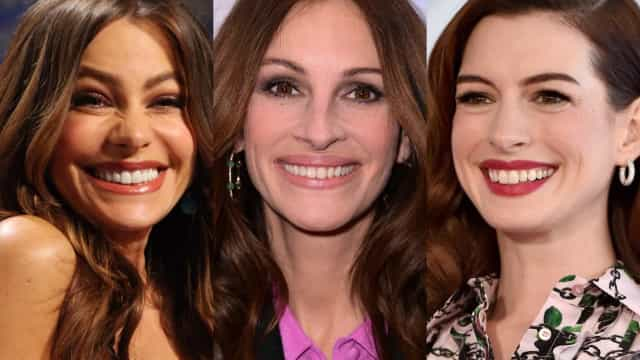 Celebrities with the broadest smiles