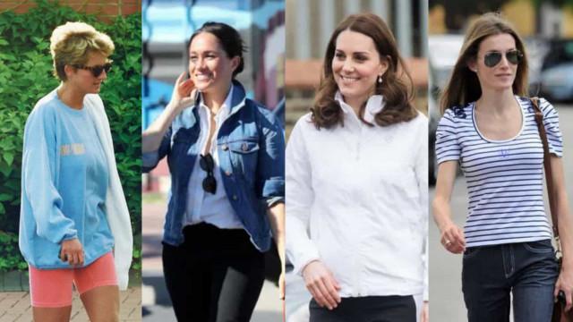 Casual wear: Når de kongelige er afslappet klædt på