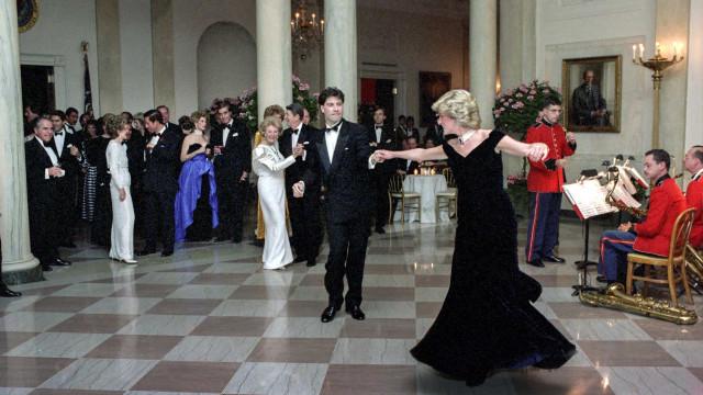 Ellos tuvieron la suerte de estrechar la mano de la princesa Diana