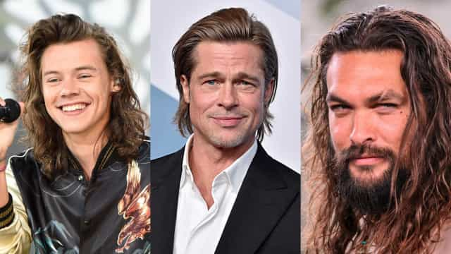Male celebs who look better with long hair