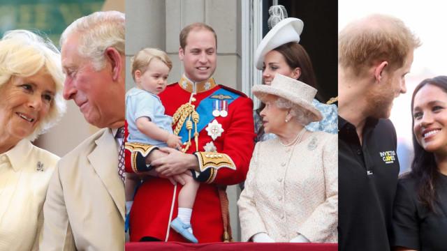 De verassende koosnaampjes van de Britse Royals