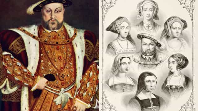 What fate befell the six wives of Henry VIII?