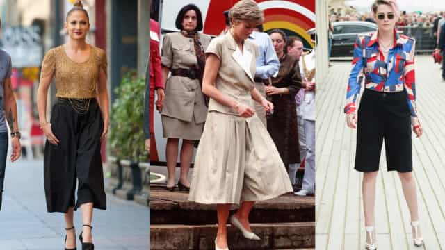 The cool appeal of celebrities and culottes