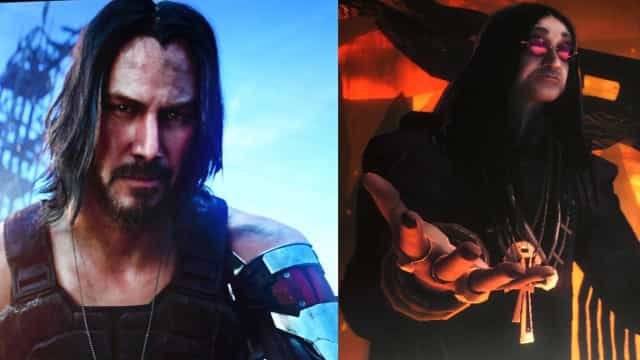 Celebrities who appear in video games