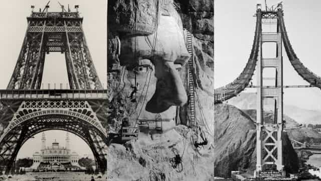 Iconic tourist sites in the making