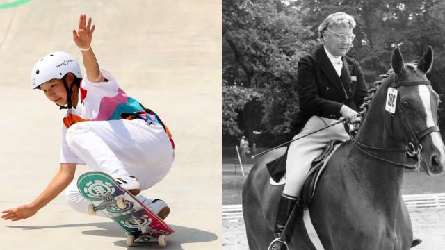 Les athlètes les plus jeunes et les plus âgés de l'Histoire des JO