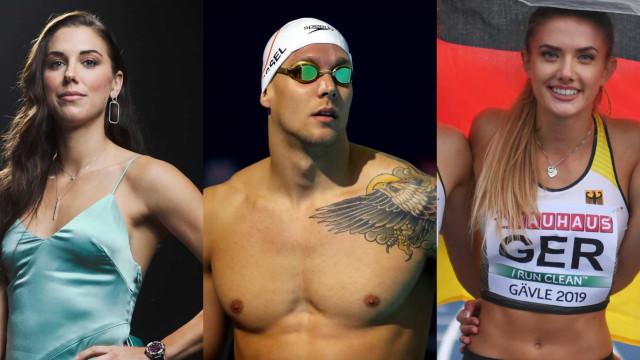 Les athlètes les plus s e x y des JO de Tokyo
