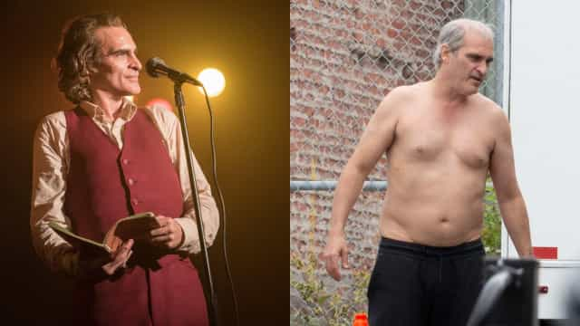 Joaquin Phoenix and other actors who totally transformed their bodies for a movie