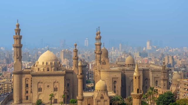 Visite o Cairo sem se levantar da cadeira