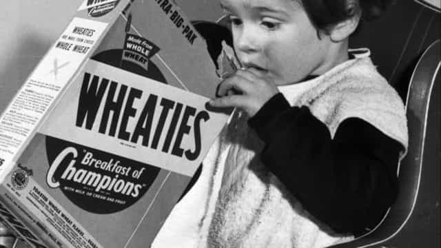 Popular breakfast cereals through the years