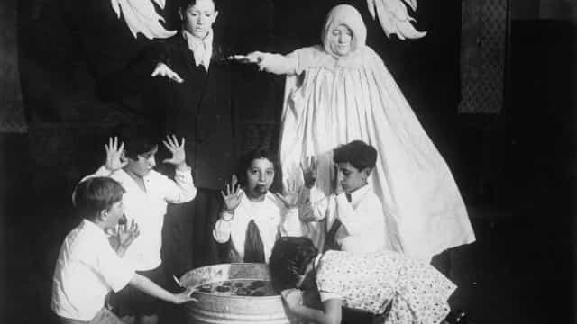 The spooky history behind bobbing for apples